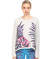 Mara Hoffman - Floral Embroidered Sweatshirt