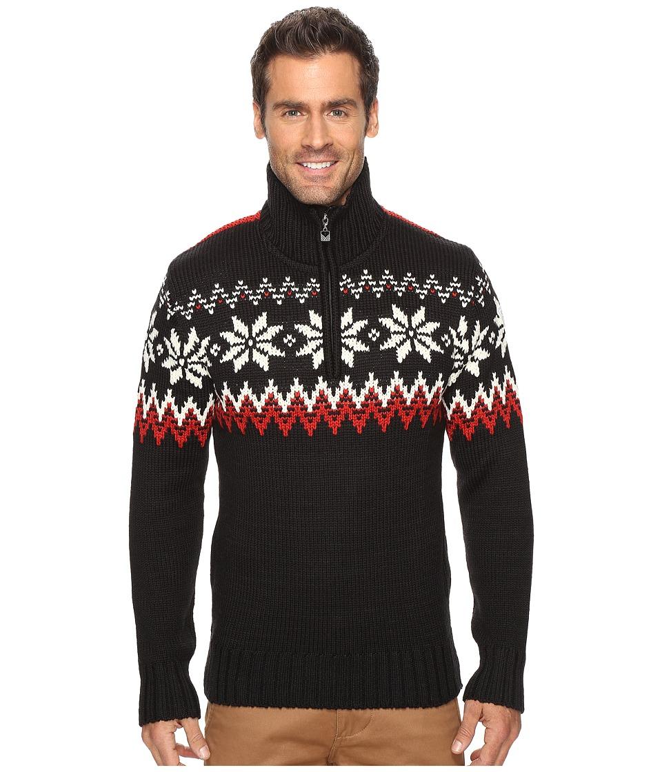 Dale of Norway Myking Sweater (Black/Raspberry) Men's Swe...