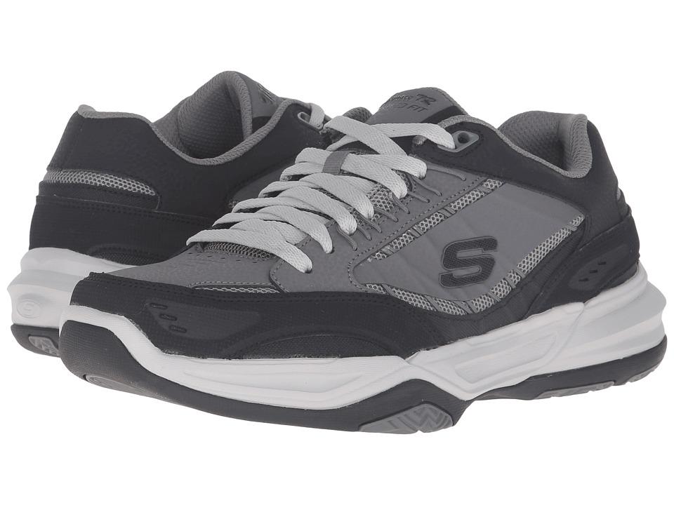 SKECHERS Monaco TR Swift Step (Charcoal/Black) Men