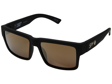 Spy Optic Montana - Soft Matte Black/Happy Bronze/Gold Mirror