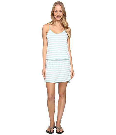 Lole Briley Dress - Aqua Splash Stripe