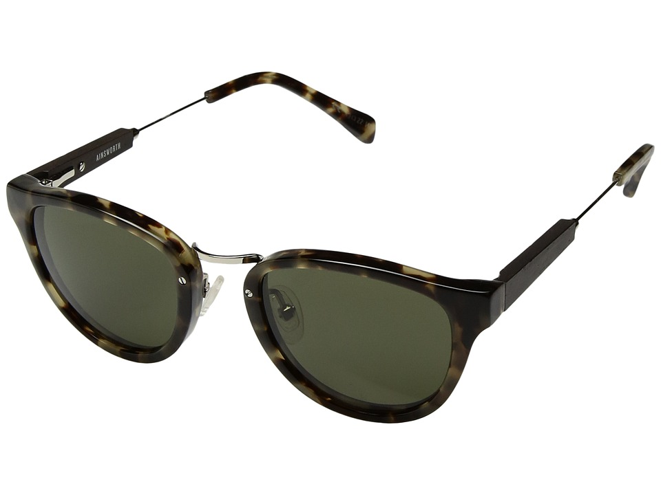 Shwood Ainsworth Vintage Tortoise/Silver/G15 Fashion Sunglasses
