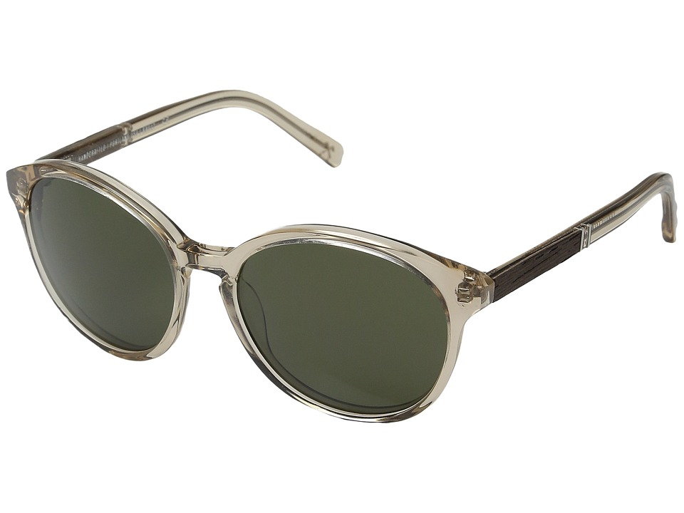 Shwood Bailey Champagne/Ebony/G15 Fashion Sunglasses