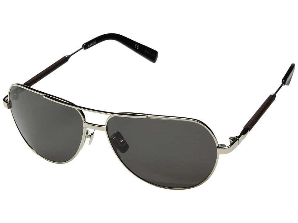 Shwood Redmond (Silver Titanium Ebony/G15) Fashion Sunglasses