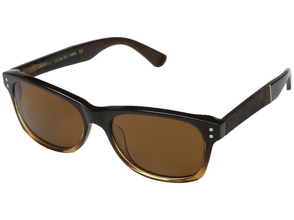 Shwood Cannon Sweet Tea/Elm Burl/Brown Fashion Sunglasses
