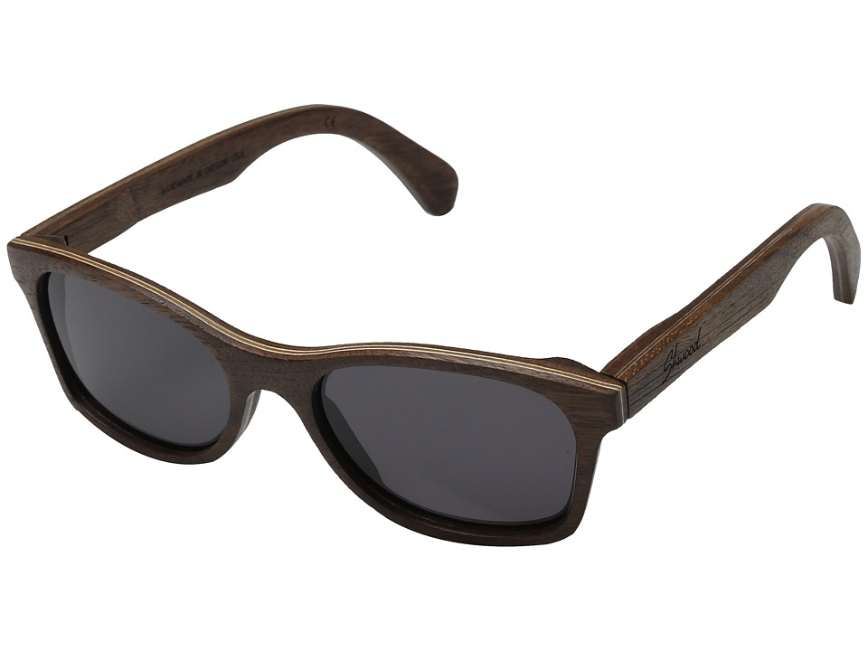 Shwood Cannon Walnut/Grey Fashion Sunglasses