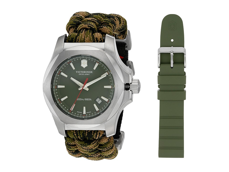 Victorinox - I.N.O.X. Paracord Watch Set (Green Camo) Watches