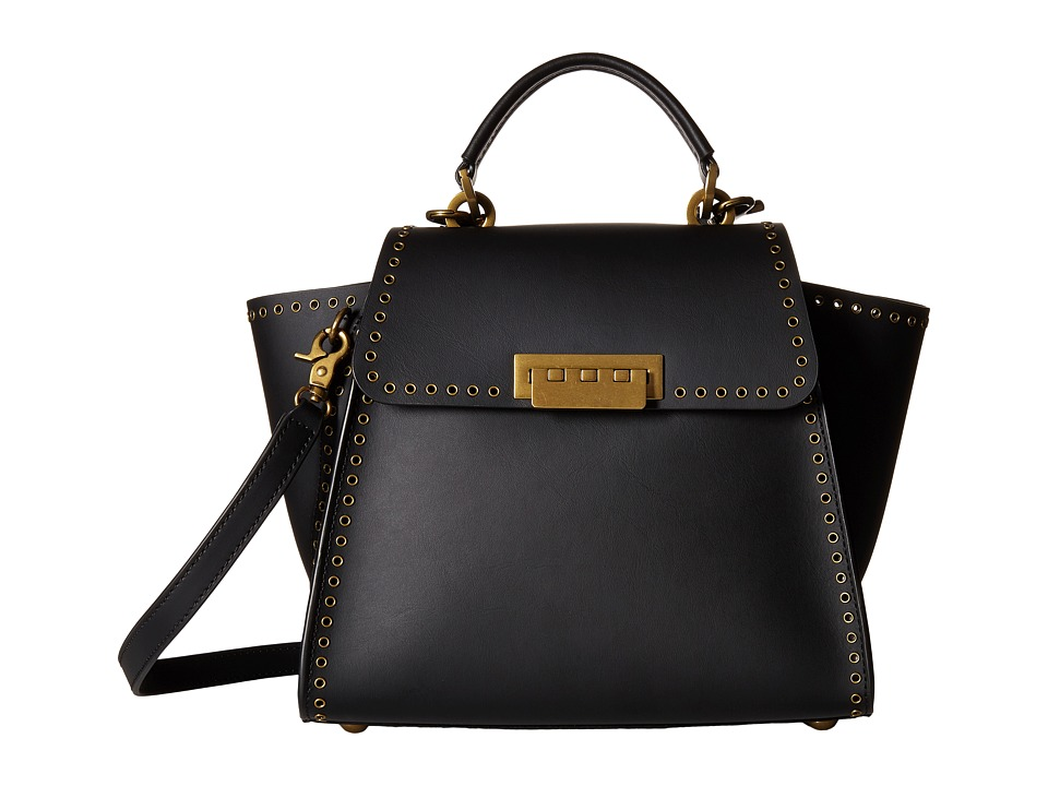 ZAC Zac Posen - Eartha Iconic Convertible (Black) Convertible Handbags