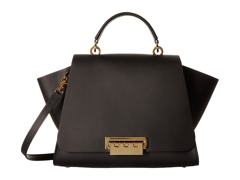 ZAC Zac Posen - Eartha Iconic Soft Top-Handle (Black) Top...