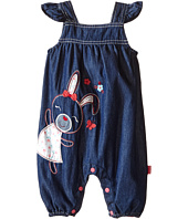 Pumpkin Patch Kids - Denim Bunny All-in-One Romper (Infant)