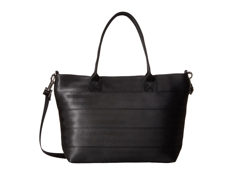 Harveys Seatbelt Bag - Mini Streamline Tote (Salvage Black) Tote Handbags