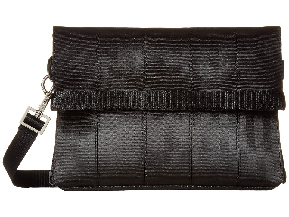 Harveys Seatbelt Bag - Mini Foldover (Black) Handbags