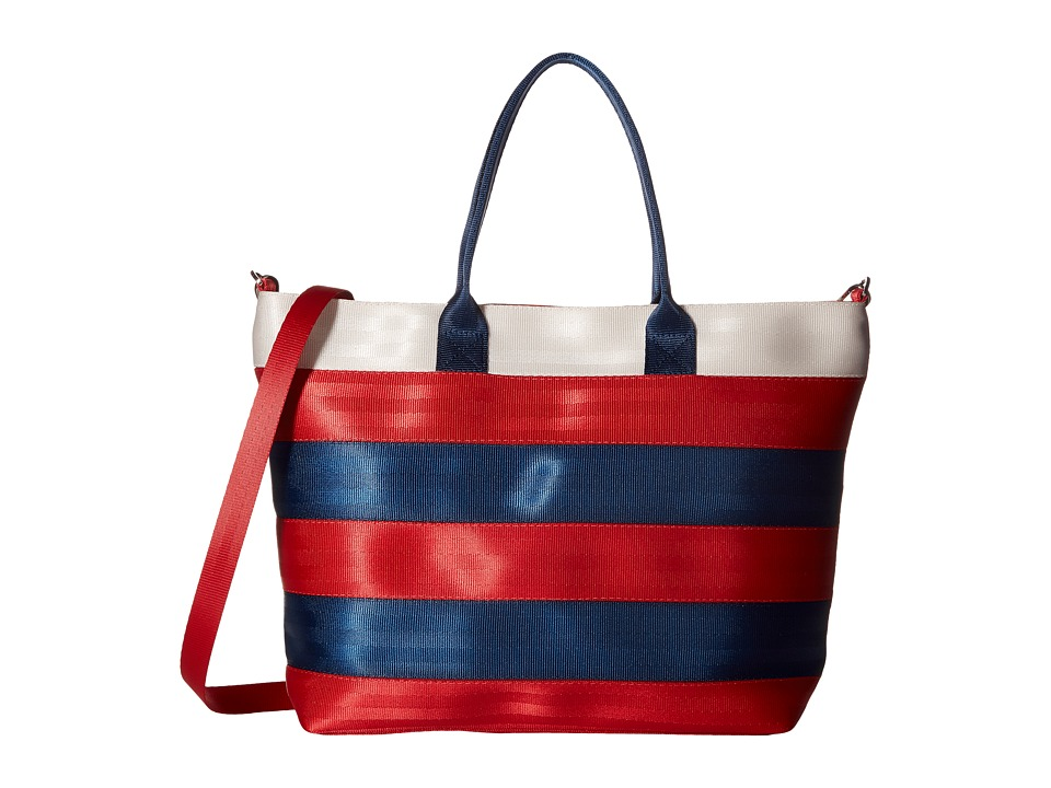 Harveys Seatbelt Bag - Medium Streamline Tote (Firecracker) Tote Handbags