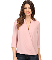 B Collection by Bobeau - Wes Cross Front Woven Blouse
