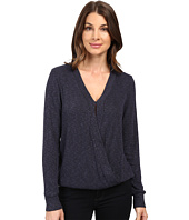 B Collection by Bobeau - Mavis Cross Front Knit Top