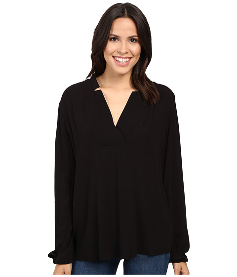 B Collection by Bobeau Kyla Deep V Blouse