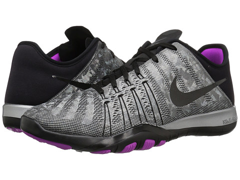 Nike Free TR 6 Metallic - Metallic Silver/Black/Hyper Violet