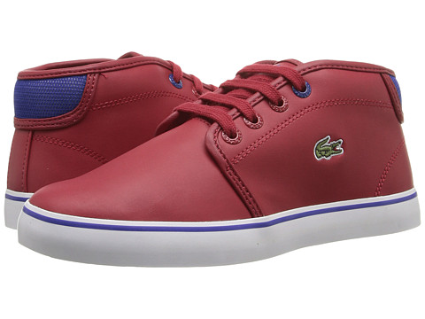 Lacoste Kids Ampthill 316 2 SPC (Little Kid) - Dark Red