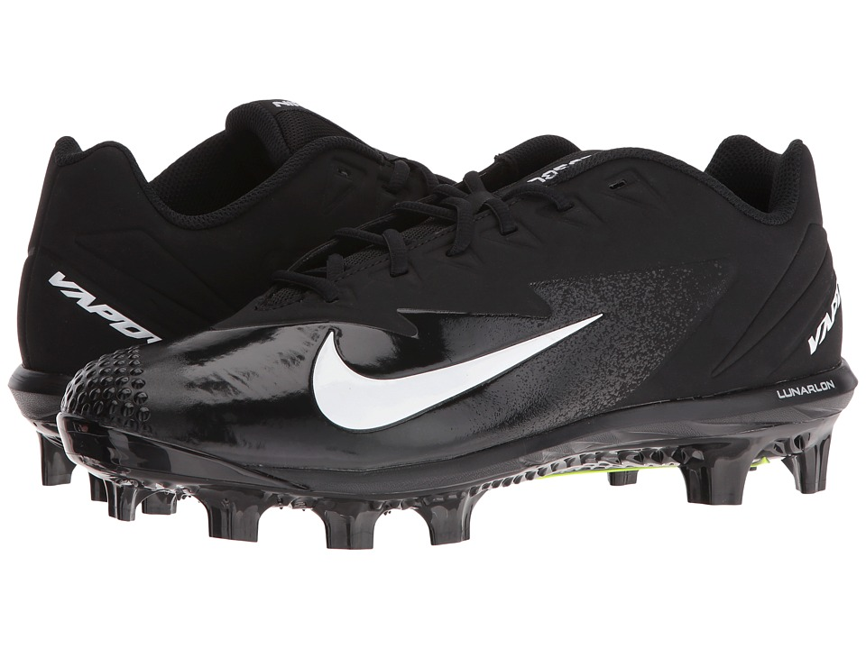 Nike - Vapor Ultrafly Pro MCS (Black/White/Anthracite/White) Mens Cleated Shoes