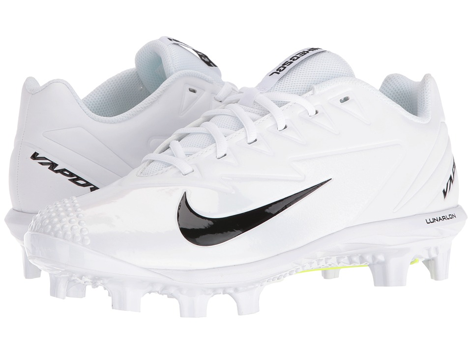 Nike - Vapor Ultrafly Pro MCS (White/Black/White) Mens Cleated Shoes