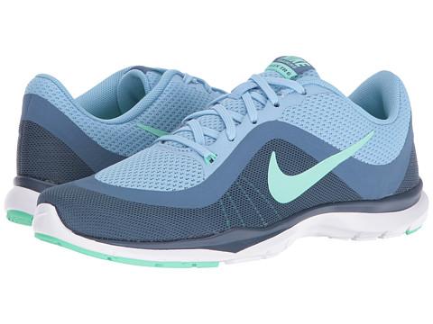 Nike Flex Trainer 6 - Blue Cap/Green Glow/Ocean Fog/Squadron Blue