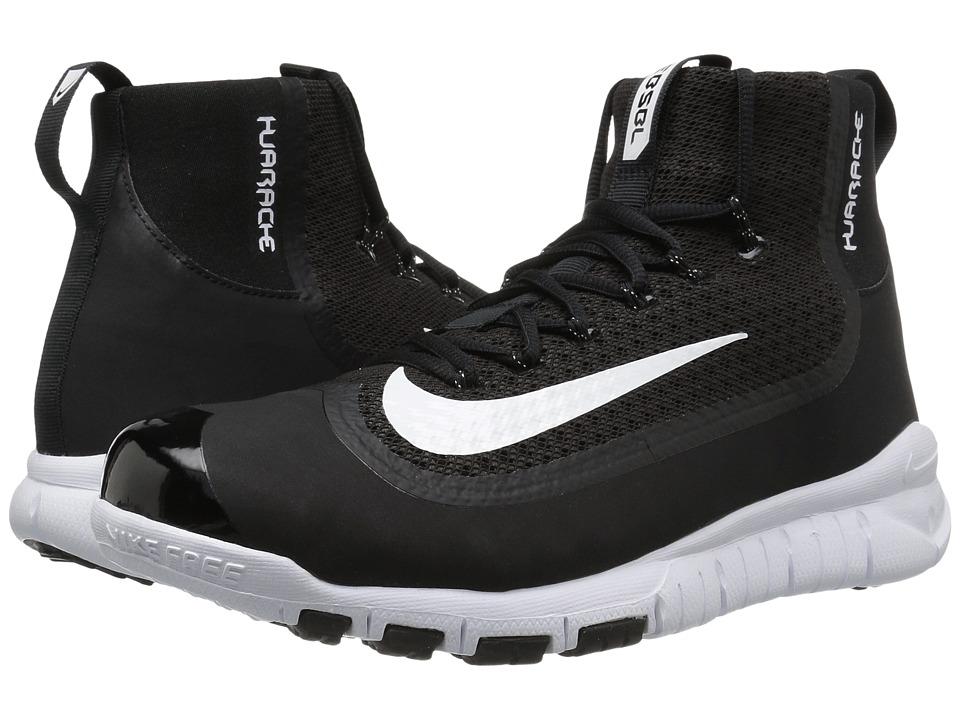 Nike - Huarache 2KFilth Elite Pregame (Black/White) Mens Cleated Shoes