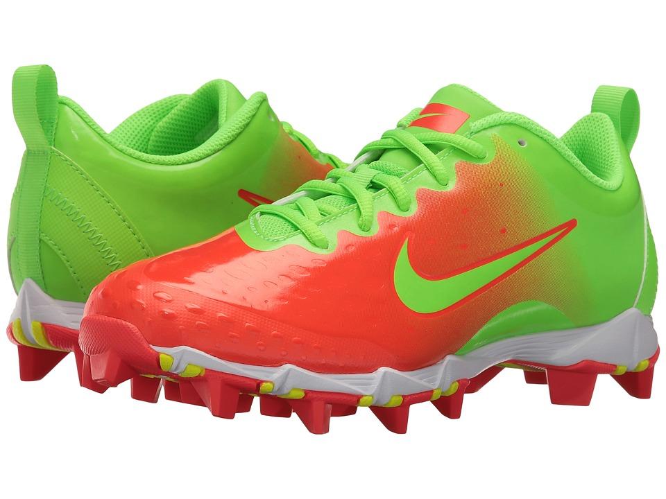 Nike Hyperdiamond 2 Keystone (Electric Green/Electric Green/Bright Crimson) Women