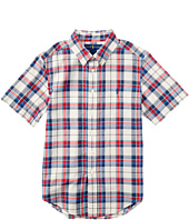 Polo Ralph Lauren Kids - Madras Short Sleeve Button Down (Big Kids)