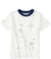 Polo Ralph Lauren Kids - Graphic Crew Neck T-Shirt (Big Kids)