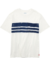 Polo Ralph Lauren Kids - Slub Jersey Stripe Tee (Big Kids)