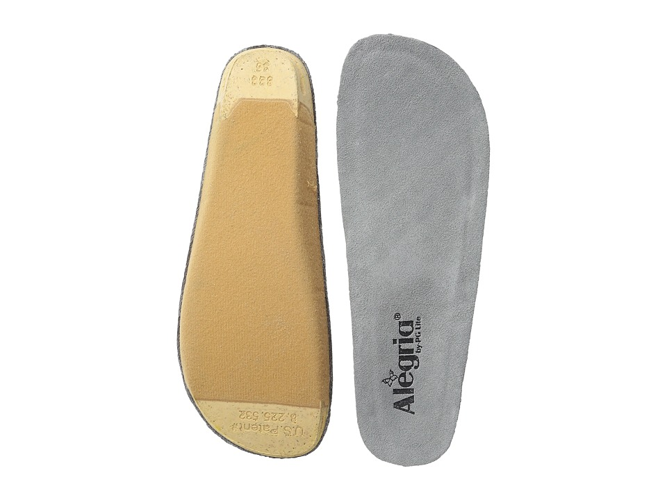Alegria - Replacement Insole (Grey) Women's Insoles Accessories Shoes