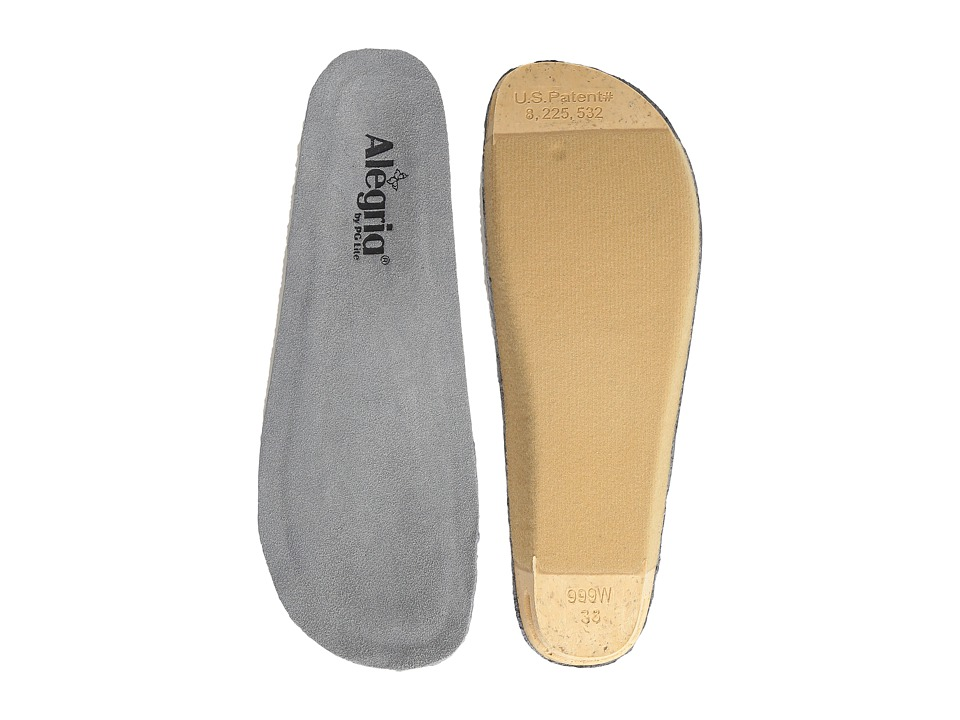 Alegria - Wide Replacement Insole (Grey) Women's Insoles Accessories Shoes