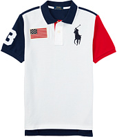Polo Ralph Lauren Kids - Basic Flag Polo (Big Kids)