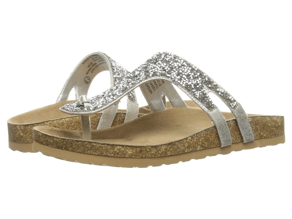 Not Rated Bushey Silver Womens Sandals
