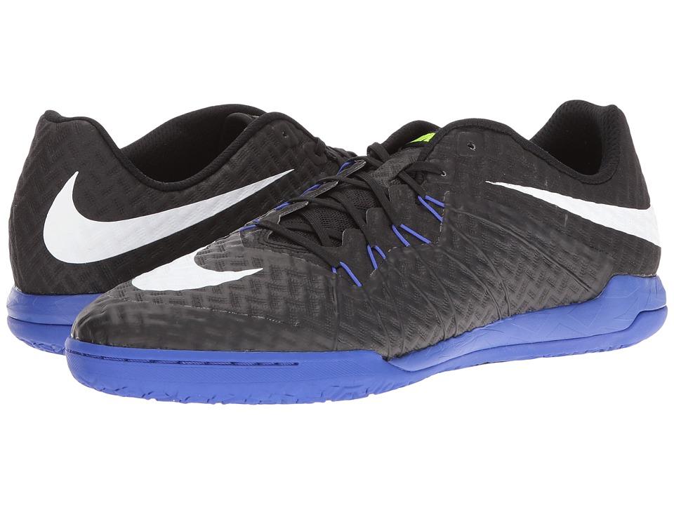 Nike Hypervenomx Finale IC (Black/White/Paramount Blue/Volt) Men