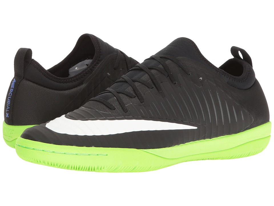 Nike MercurialX Finale II IC (Black/White/Electric Green/Anthracite) Men