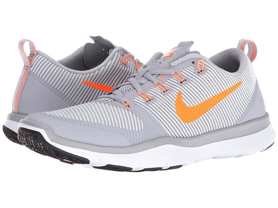 Nike Free Train Versatility (Wolf Grey/Bright Citrus/White/Black) Men