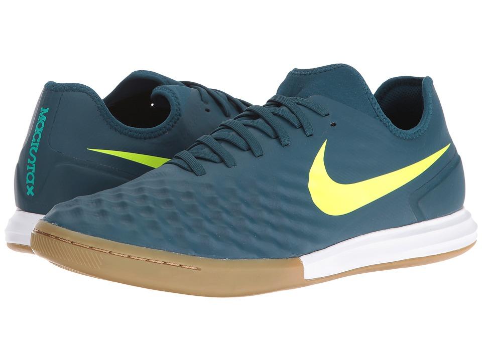 Nike Magistax Finale II IC (Mid Turquoise/Volt/Hasta/Gum Light Brown) Men