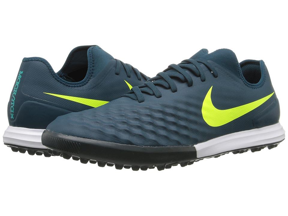 Nike Magistax Finale II TF (Mid Turquoise/Volt/Hasta/Gum Light Brown) Men