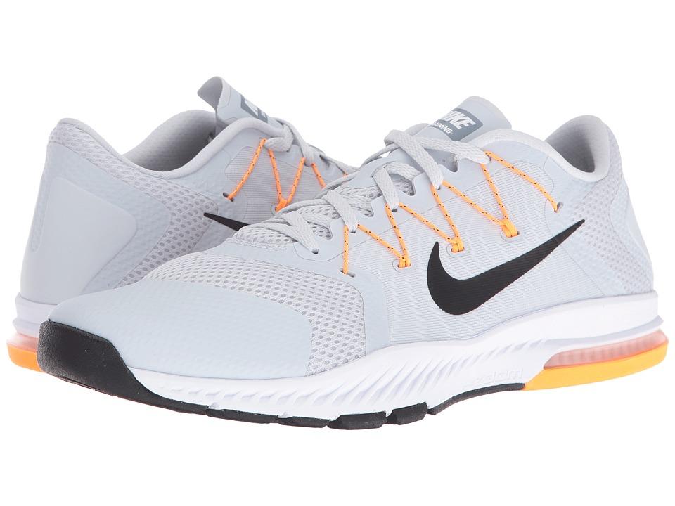Nike Zoom Train Complete (Pure Platinum/Black/Bright Citrus/Cool Grey) Men