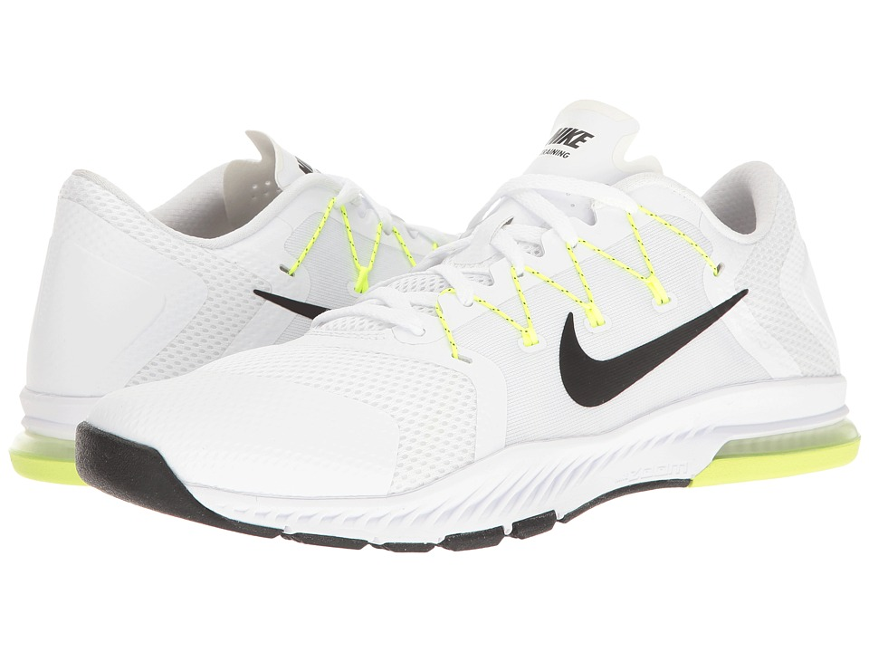 Nike Zoom Train Complete (White/Black/Pure Platinum/Volt) Men