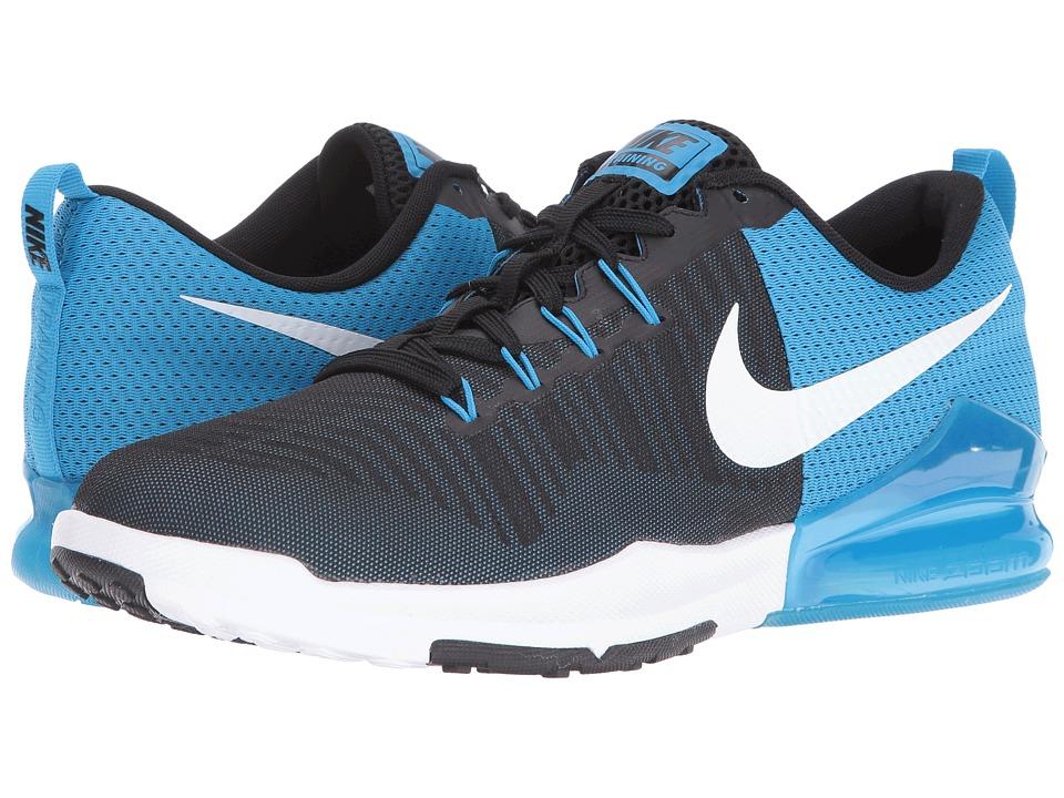 Nike Zoom Train Action (Black/White/Blue Glow/White) Men