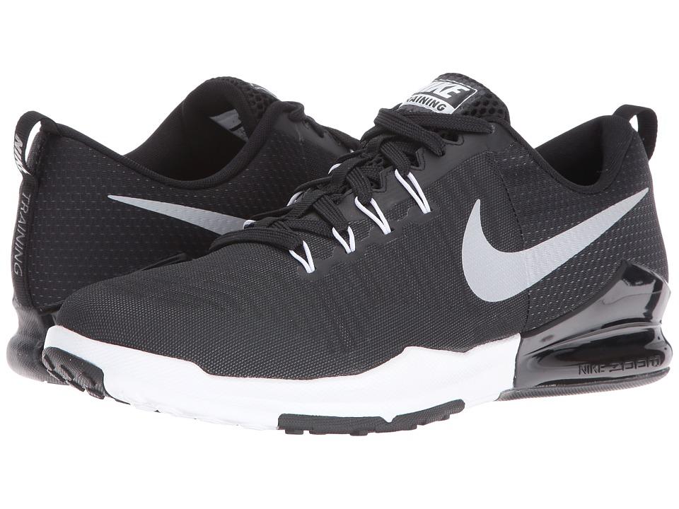 Nike Zoom Train Action (Black/Metallic Silver/Anthracite/White) Men
