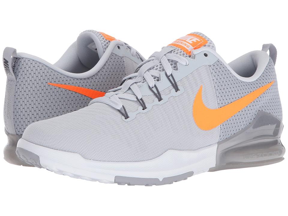 Nike Zoom Train Action (Pure Platinum/Bright Citrus/Wolf Grey/Dark Grey) Men