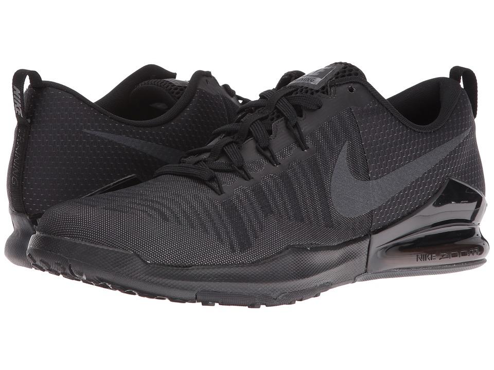 Nike Zoom Train Action (Black/Metallic Hematite/Dark Grey) Men