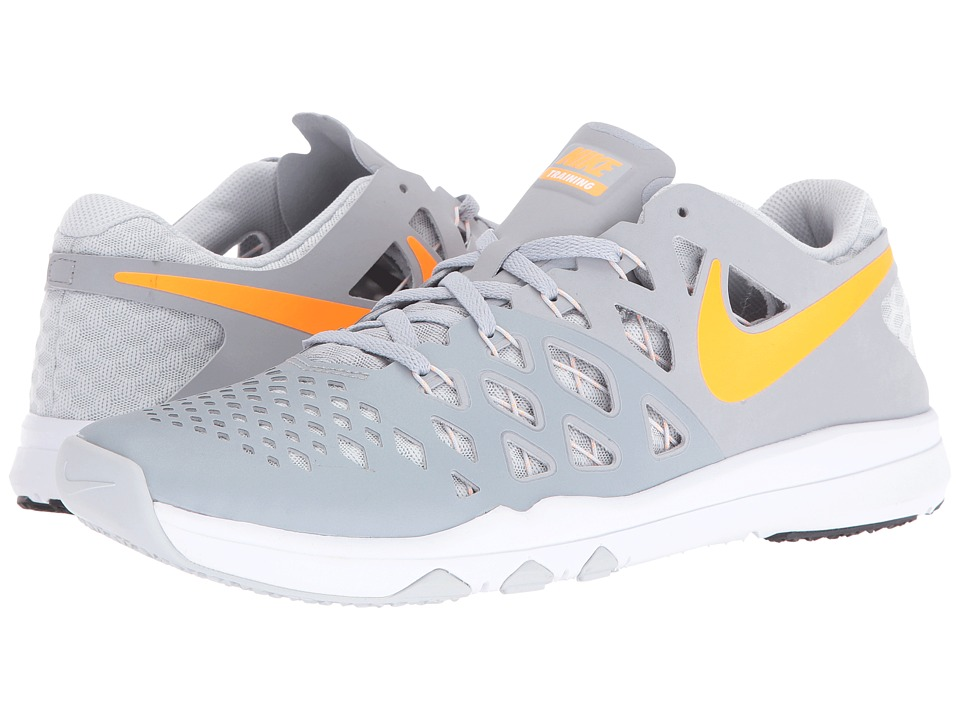 Nike - Train Speed 4 (Wolf Grey/Bright Citrus/Pure Platinum/White) Mens Shoes