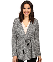 B Collection by Bobeau - Brealyn Lurex Tie Waist Cardigan