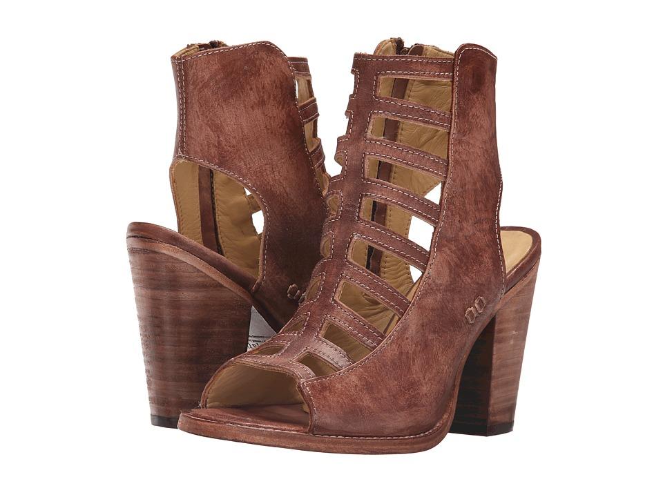 Bed Stu Occam Teak Driftwood Leather High Heels