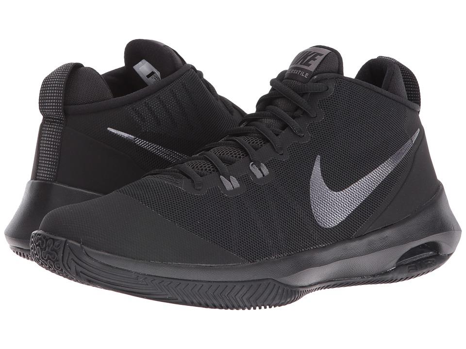Nike Air Versatile Nubuck (Black/Metallic Dark Grey/Dark ...