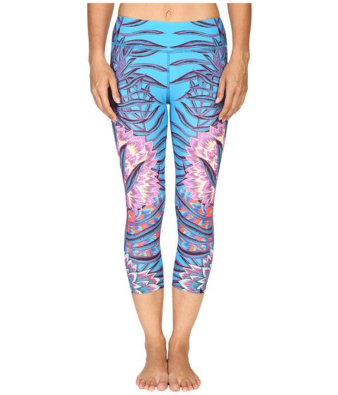 Mara Hoffman Floral Cropped Leggings